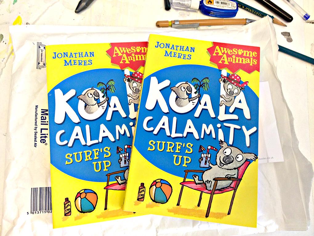 koala calamity surf's up