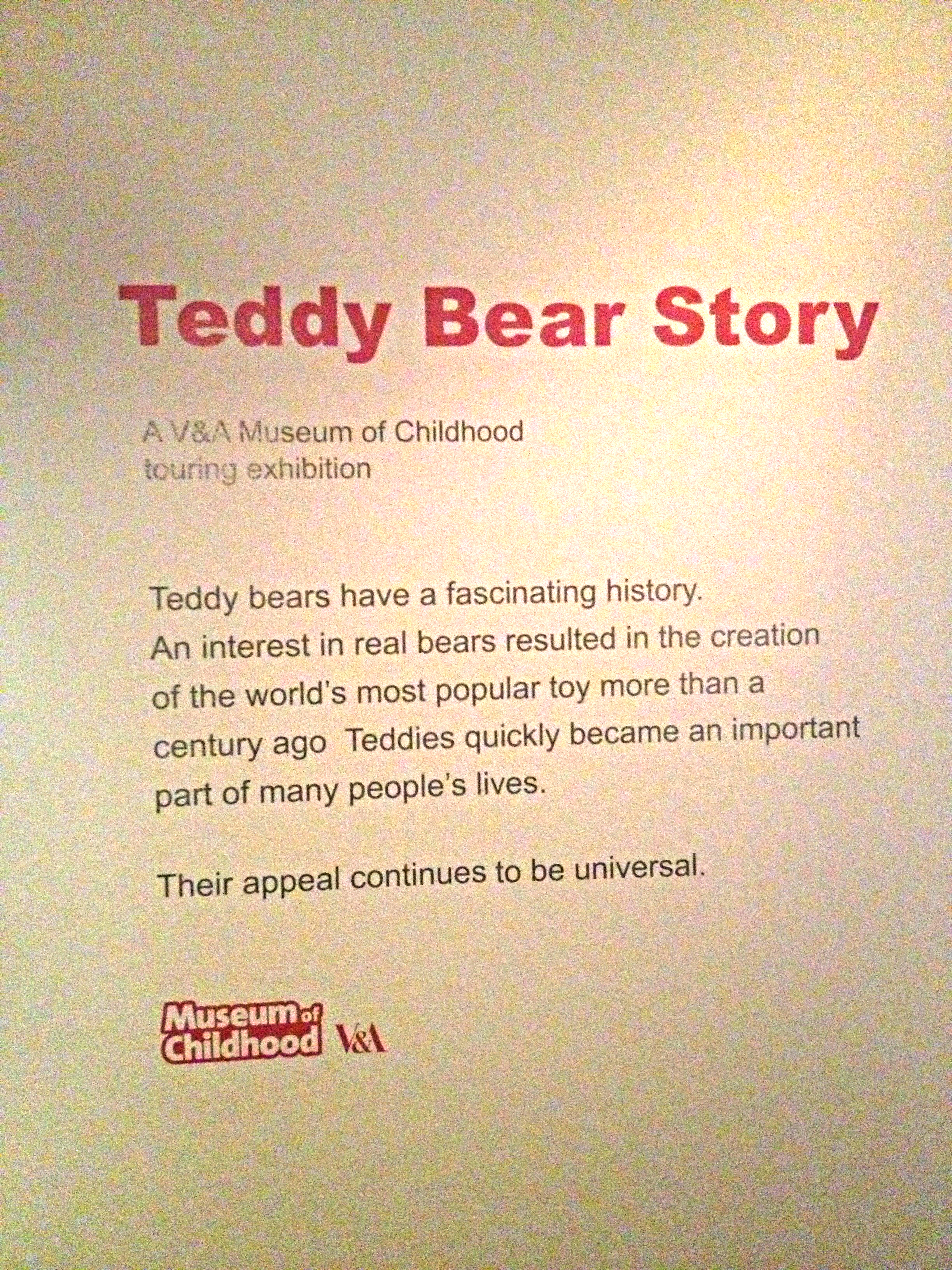 Neal Layton news » Blog Archive » The Teddy Bear Story